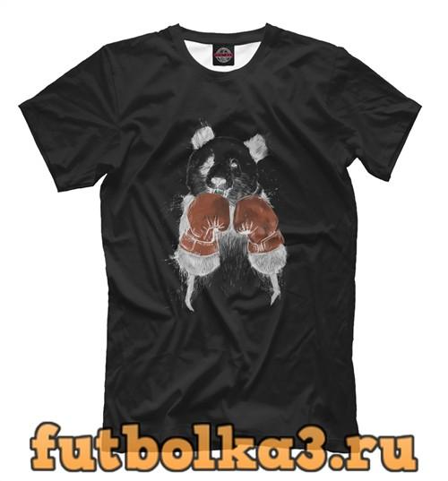 Футболка Панда- боксер мужская