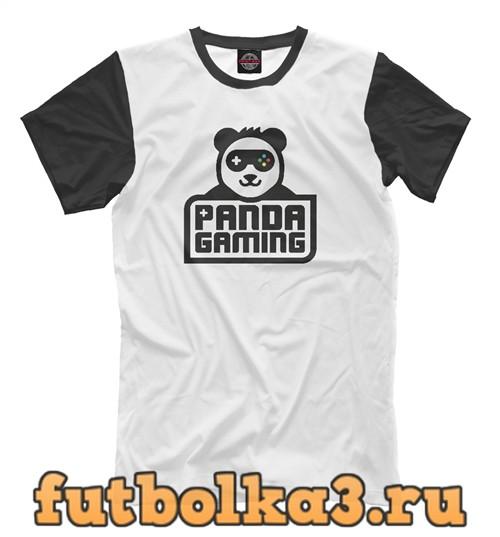 Футболка Панда геймер мужская