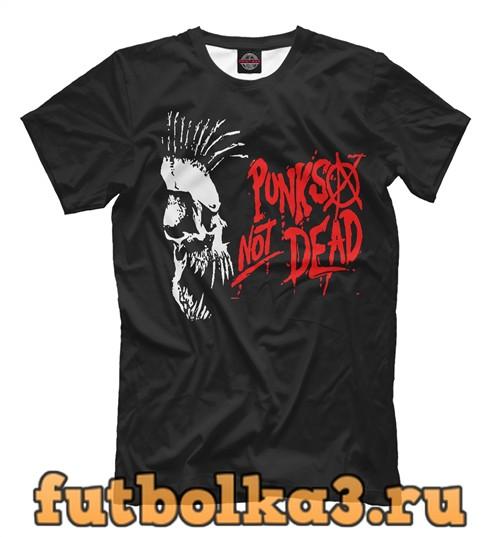 Футболка Панк не мертв мужская