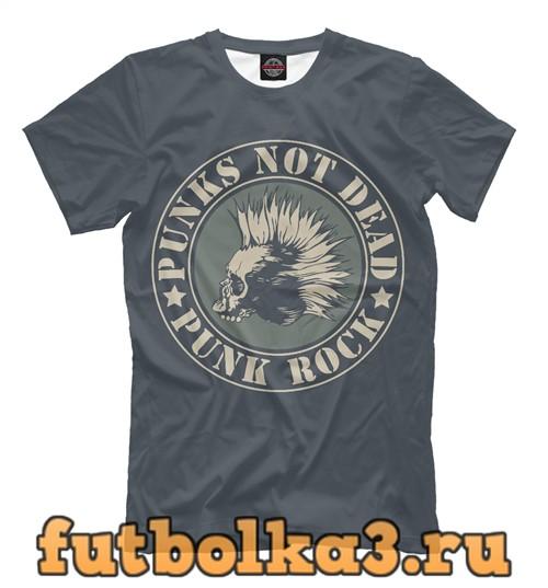 Футболка Панк рок мужская