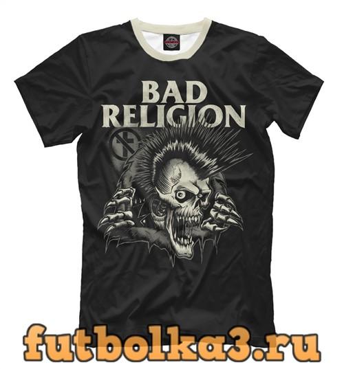 Футболка Панк-рок (плохая религия) мужская