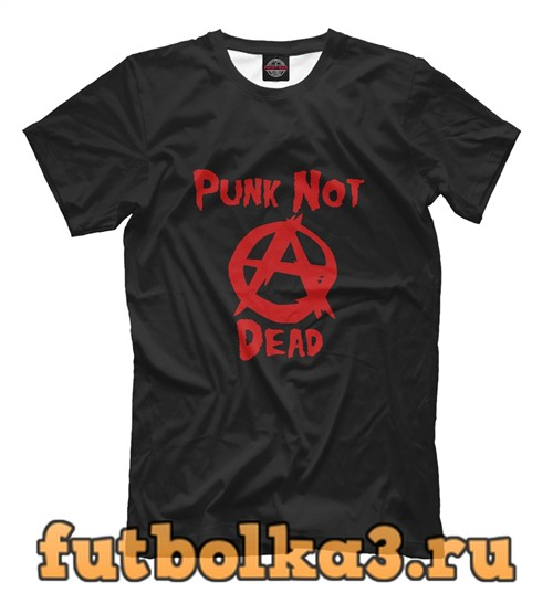 Футболка Панки хой! Punk not dead мужская
