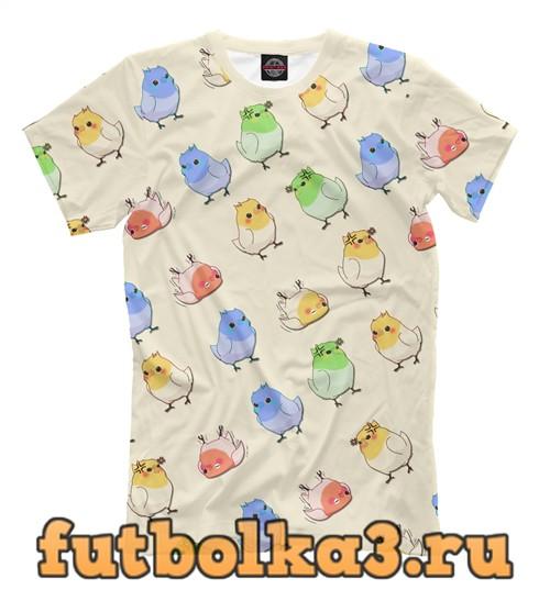 Футболка Папуги мужская