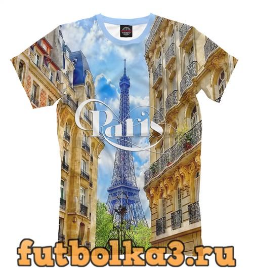 Футболка Париж, франция мужская