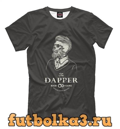 Футболка Парикмахер хипстер мужская