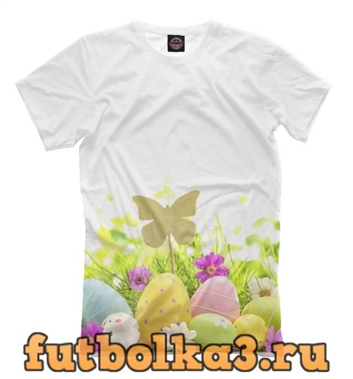 Футболка Пасхальные угощения мужская