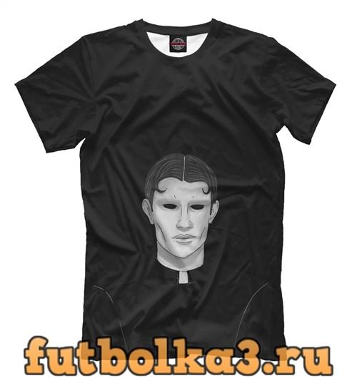 Футболка Пастор с черными глазами мужская