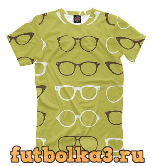 Футболка Паттерн очки мужская