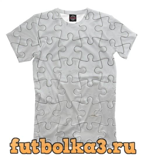 Футболка Пазл мужская