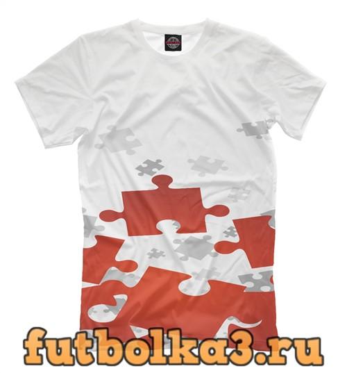 Футболка Пазлы мужская