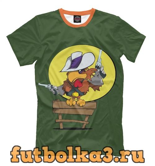 Футболка Пернатый шериф мужская