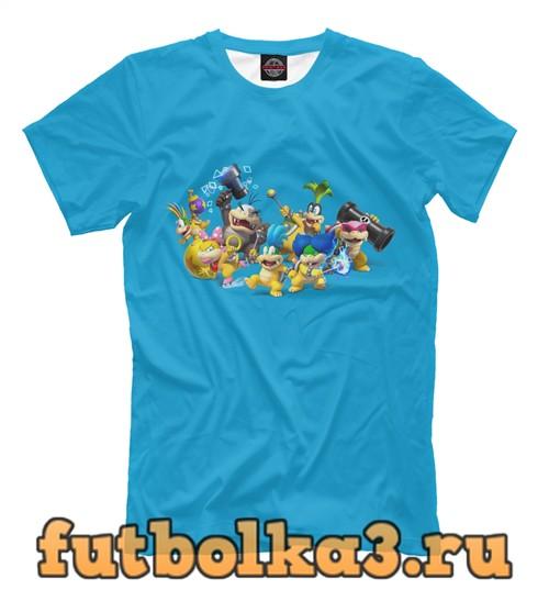 Футболка Персонажи nintendo мужская