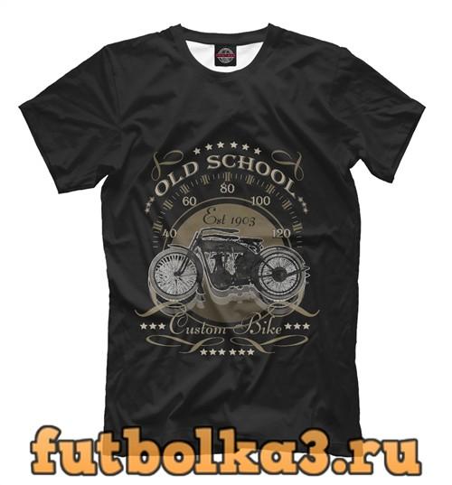 Футболка Первый мотоцикл мужская
