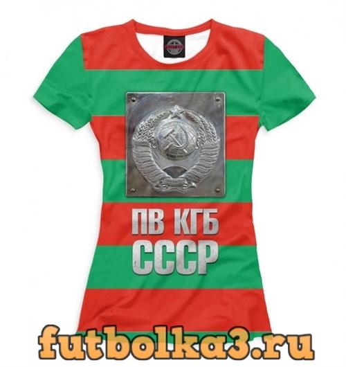 Футболка ПВ КГБ женская