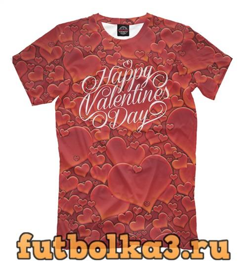 Футболка С днем влюбленных мужская