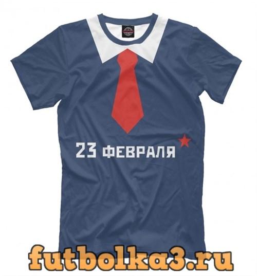 Футболка С галстуком мужская