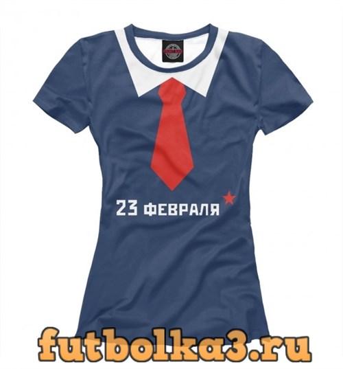 Футболка С галстуком женская