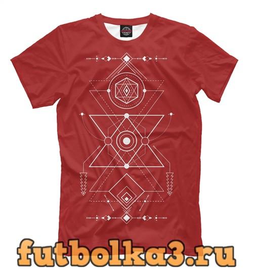Футболка Сакральная геометрия мужская