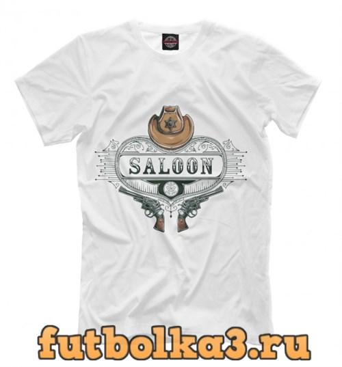 Футболка Saloon мужская