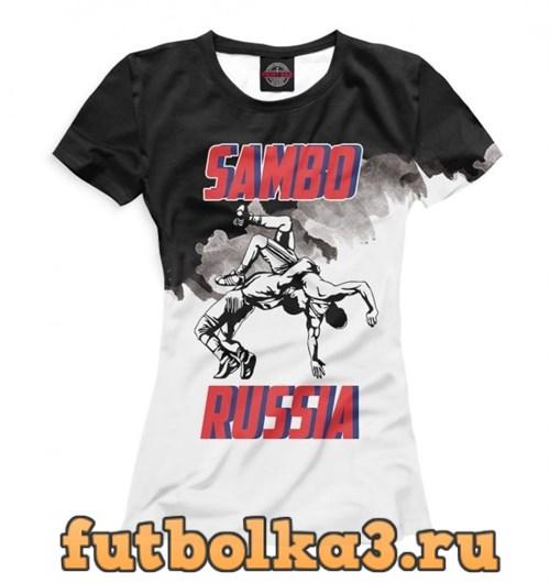 Футболка Самбо женская