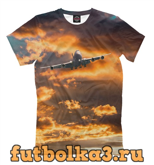 Футболка Самолет муж�ка�