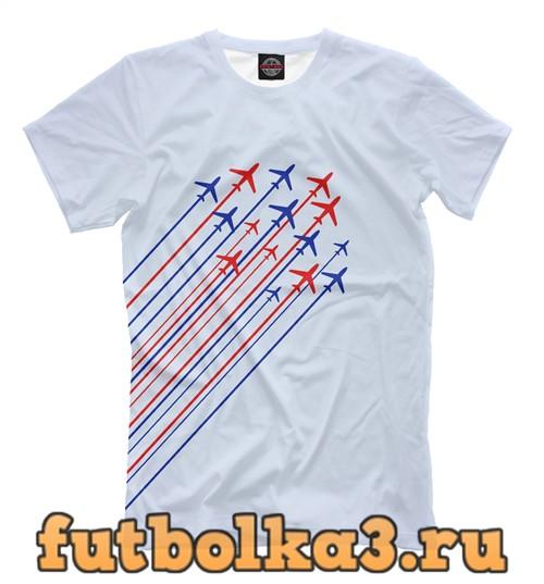 Футболка Самолеты мужская