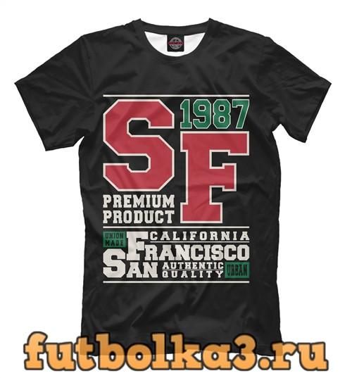 Футболка Сан-франциско калифорния мужская