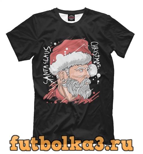 Футболка Santa claus мужская