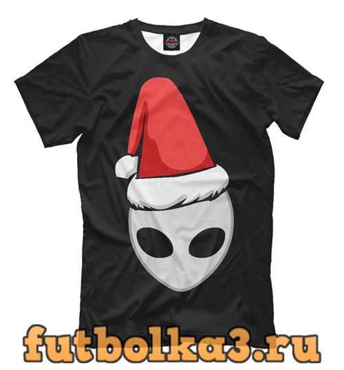 Футболка Санта нло мужская