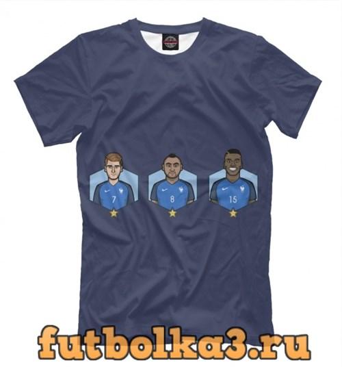 Футболка Сборная Франция мужская