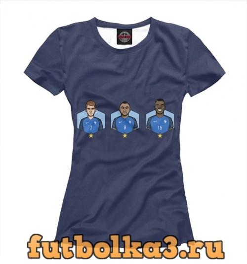 Футболка Сборная Франция женская
