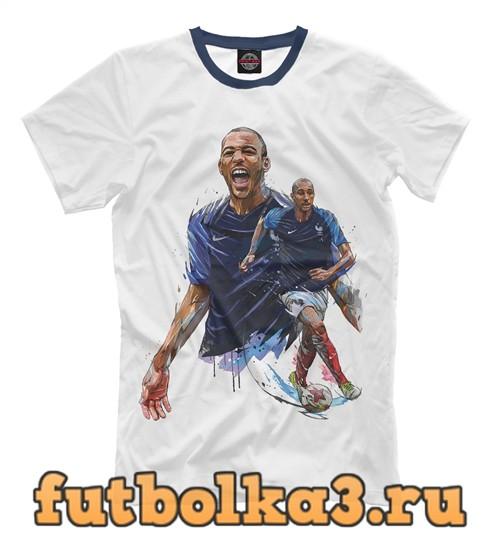Футболка Сборная франции мужская