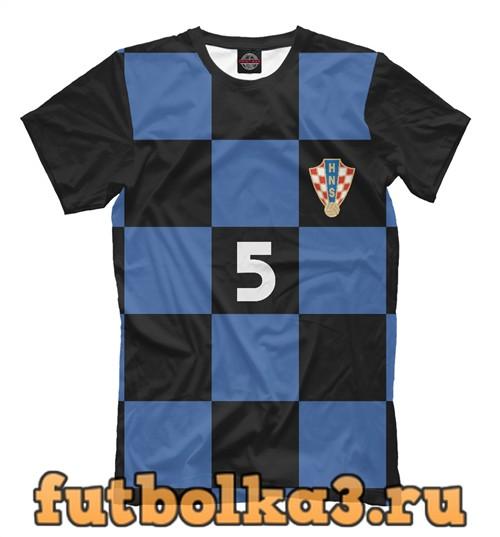 Футболка Сборная хорватии-чорлука 5 мужская