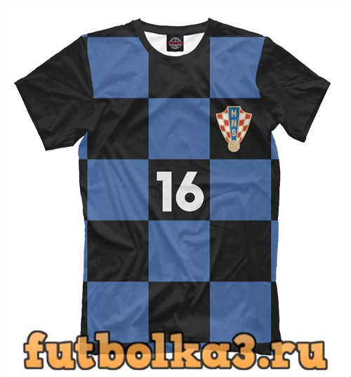 Футболка Сборная хорватии-калинич 16 мужская