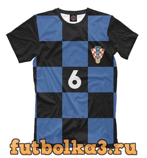 Футболка Сборная хорватии-ловрен 6 мужская