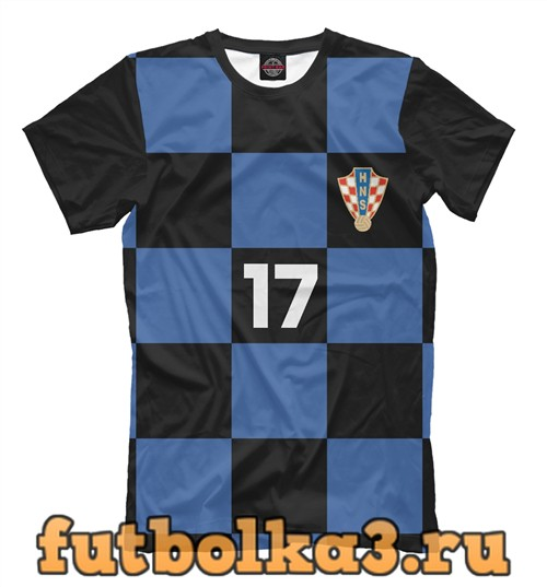 Футболка Сборная хорватии-манджукич 17 мужская