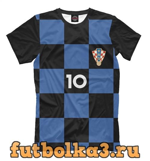 Футболка Сборная хорватии-модрич 10 мужская