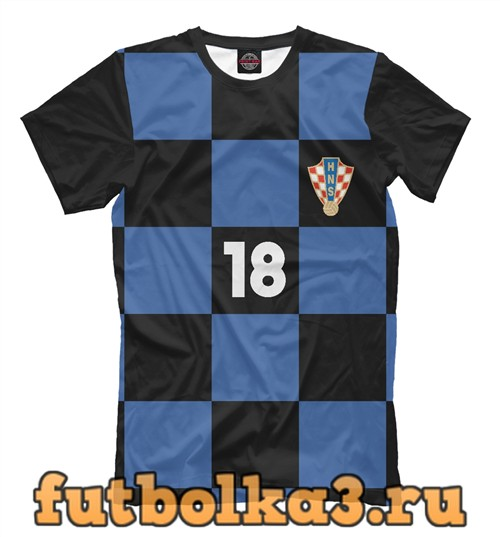Футболка Сборная хорватии-ребич 18 мужская