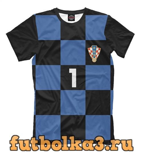 Футболка Сборная хорватия-ливакович 1 мужская