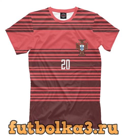 Футболка Сборная португалии-куарежма 20 мужская