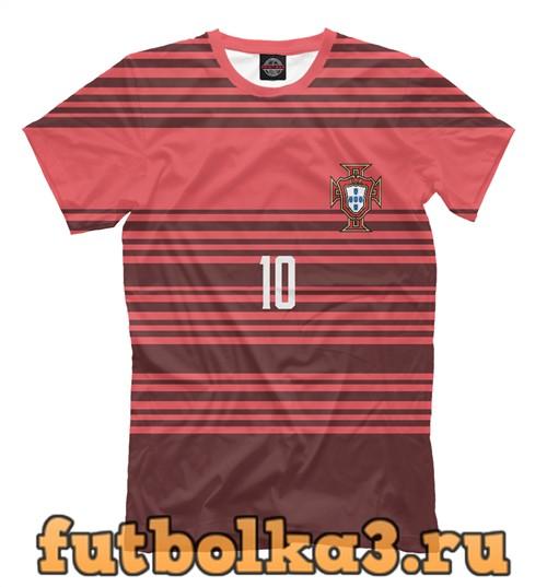 Футболка Сборная португалии-мариу 10 мужская