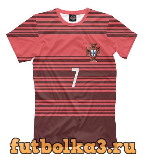 Футболка Сборная португалии-роналду 7 мужская