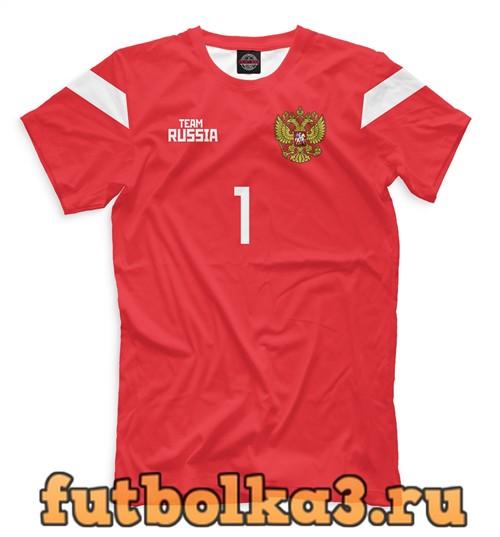 Футболка Сборная россии акинфеев мужская