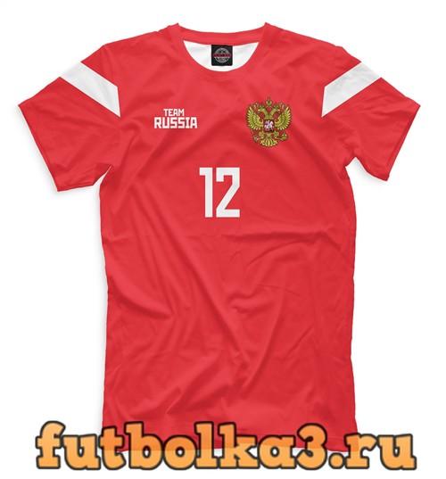 Футболка Сборная россии лунев мужская