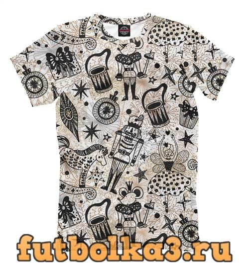 Футболка Щелкунчик мужская