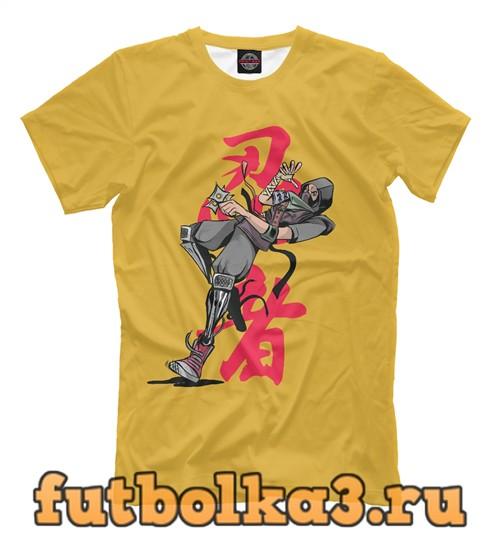 Футболка Shinobi ninja мужская