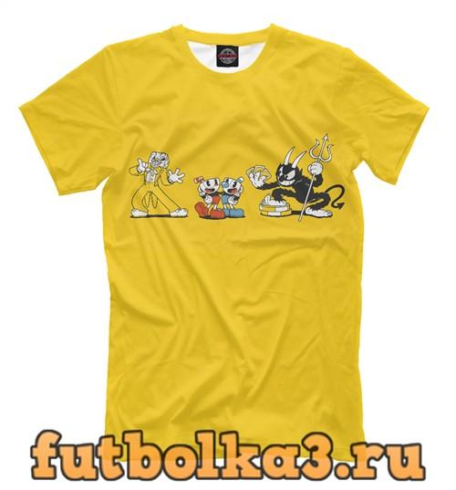 Футболка Сuphead мужская