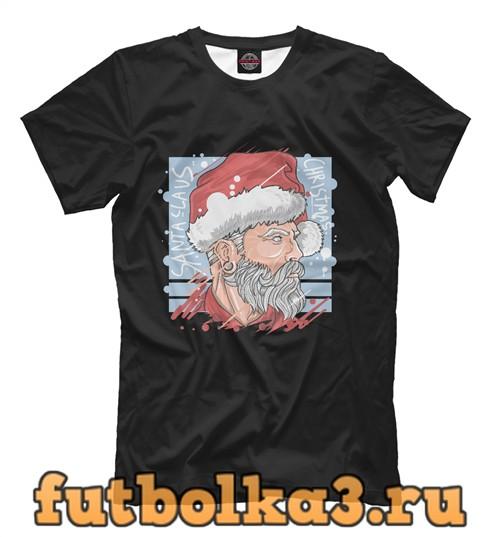 Футболка Sweet santa мужская