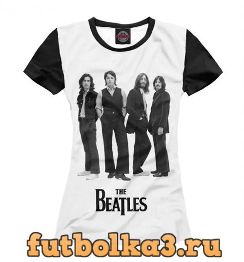 Футболка The Beatles женская