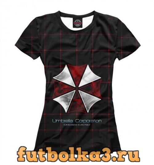 Футболка Umbrella Corporation женская
